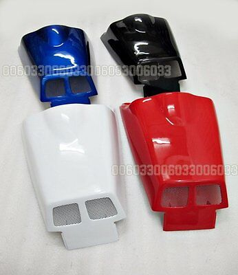 Rear seat cover Racing Fairing tail for Honda VFR400 NC24 87-88 BU RD WH BK 33#G