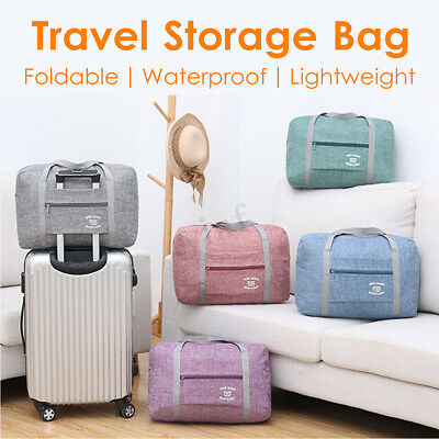 Portable Waterpoof Foldable Travel Luggage Baggage Storage Carry-On Oxford Bags