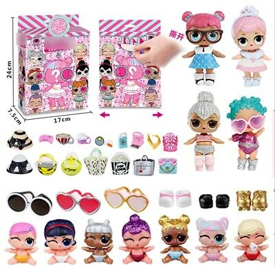 New Girls Funny Doll Kid Toys Plane Car Playset Picnic Figure Toy Girl Xmas Gift