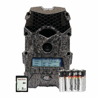 Wildgame Innovations Mirage 16 Lightsout 16MP Game Camera w/ SD Card & Batteries