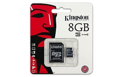 Class 4 Kingston 8GB Micro SD Flash Memory card for Lenovo Samsung Sony Tablet