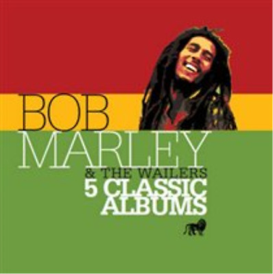 Bob Marley and The Wailers-5 Classic Albums CD / Box Set NEW