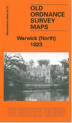 Old Ordnance Survey Map Warwick North 1923 Packmores Cliff Hill Emscote