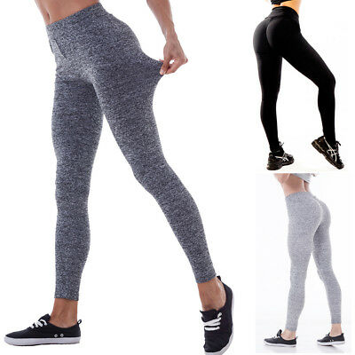 Femmes Push Up Pantalon De Jambe De Yoga Fitness Pantalon de Jogging Sportif