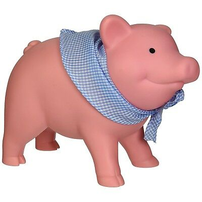 Schylling Money Banks Rubber Piggy Bank with Movable Head Penny