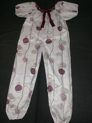 ADULT BABY POLY PVC EXTRA LONG BLOOMER BODY SPIELANZUG SUIT ROMPER Size  XXXL