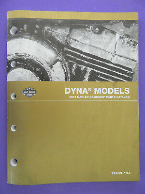 Harley Davidson 2013 DYNA Models PARTS CATALOG  99439-13A