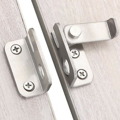Stainless Steel Anti-theft Door Lock Buckle Sliding Lock Bolt Latch Hasp D