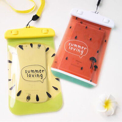 Fruit Underwater Waterproof Mobile Phone Pouch Case Dry Bag Cover D