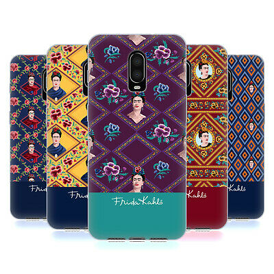 Frida Kahlo Portraits And Patterns Soft Gel Case For Amazon Asus Oneplus