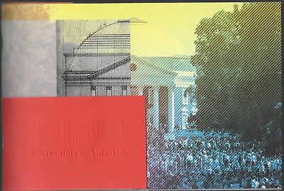 K) University of Virginia UVA Bicentennial 200 Anniversary Commemorative Program