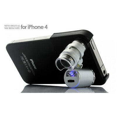 Mini Growing Microscope with LED UV VDL for iPhone 4/4S (60X)