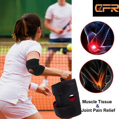 Elbow Support Brace Adjustable Tennis Golfers Gym Strap Lateral joint Bandage HG