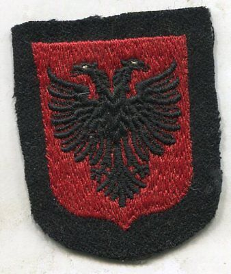 WWII German Albania patch unissued original insignia from estate