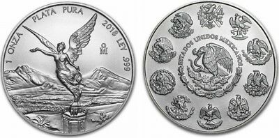 Mexique 1 Once Libertad Argent - 1 Once 2018