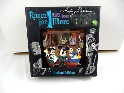 Disney Haunted Mansion LE 250 Jumbo Stretching Room pin Room For 1 More event
