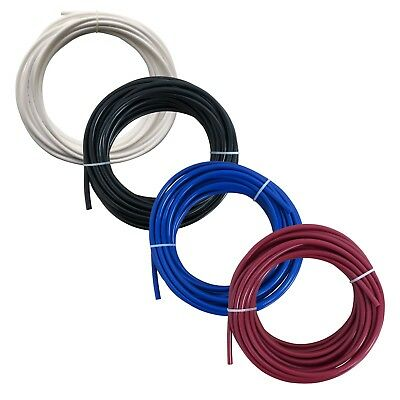 """1/4"""" RO Tubing Reverse Osmosis Pipe Piping White Black Blue or Red 5m or 10m"""