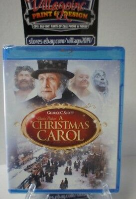 A Christmas Carol (Blu-ray Disc, 2010) NEW FREE SHIPPING!!!