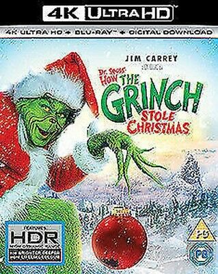 How The Grinch Stola Christmas 4K Ultra HD Nuovo 4K Uhd (8311374)