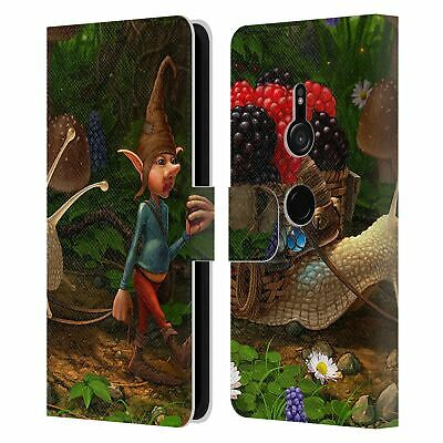 Christos Karapanos Fantasy Creatures 2 Leather Book Wallet Case For Sony Phone 1