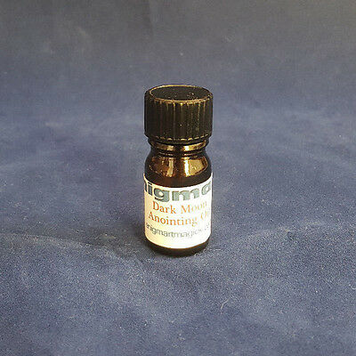 Dark Moon Anointing Oil 5ml - Magickal Oil - Protection, Binding, Banishing