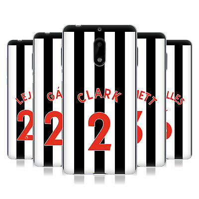 Newcastle United Fc Nufc 2017/18 Players Home Kit 1 Gel Case For Nokia Phones 1