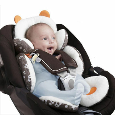 Newborn Baby Infant Car Seat Stroller Cushion Pad Head Body Support Pillow