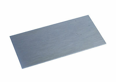 "Proops Wood Cabinet Scraper Carbon Steel 4"" x 2"" Rectangle UK Made W3342"