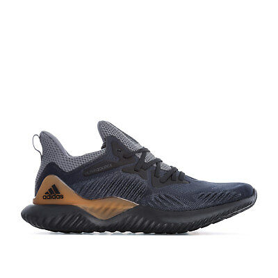 14f41cdfecc0e MENS ADIDAS ALPHABOUNCE Beyond Trainers In Black Grey - EUR 58