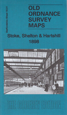 Godfrey Edition Old Ordnance Survey Maps Staffordshire The Potteries