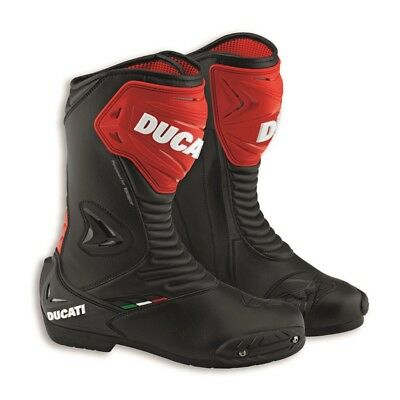 Ducati Sports Boots 2 98103874 Mens Motorbike Motorcycle Ducati Corse Black Red