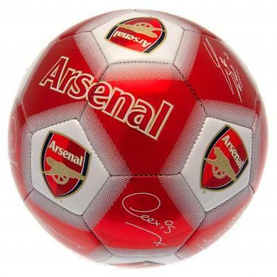 Arsenal Fc Signed Football Ball Size 5 Printed Signatures Autograph Official