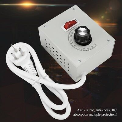 220V Single-phase AC Motor Speed Controller Motor Governor with Regulator Switch