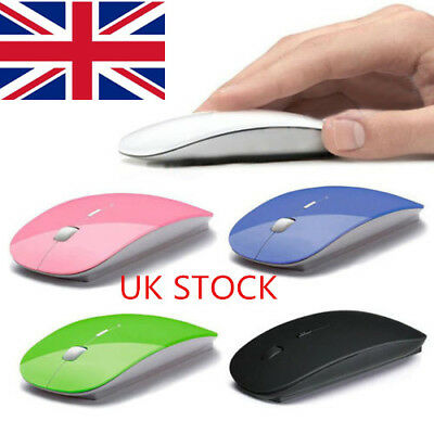 UK 2.4 GHz Wireless Cordless Mouse USB Optical Scroll For PC Laptop Computer PL