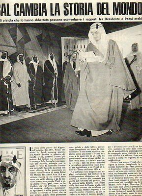MA21-Clipping-Ritaglio-1975 Feisal Ibn Abdul Al Saud assassinio