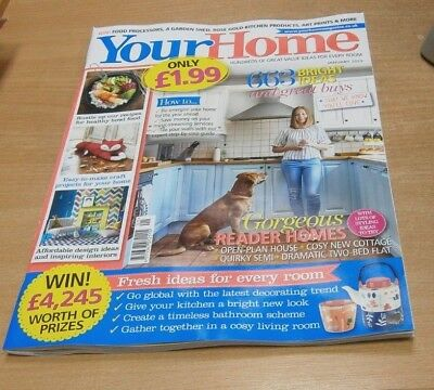 Your Home magazine JAN 2019 Music-Streaming, Inspiring Interiors, Craft Projects
