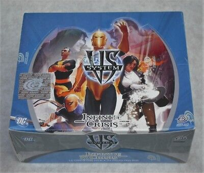 Upper Deck Dc Vs System Infinite Crisis 24 Pack Booster Box New & Sealed