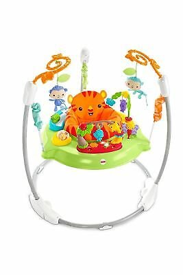 Fisher Price Roaring Rainforest Jumperoo with Music & Lights Suitable From Birth
