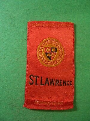 College Series Tobacco Silk--  St. Lawrence
