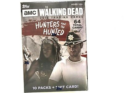 2018 Topps Amc The Walking Dead Hunters And The Hunted  ( I Hit Card )