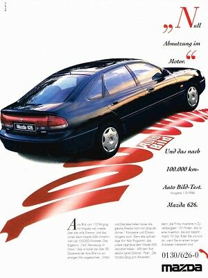 1995 Mazda 626 Auto Bild 1994 (German, 1pg.) Advertisement (AAC.023)