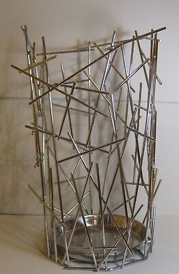 ALESSI BLOW UP FC07 Umbrella Stand / Basket / Holder By Campana Stainless Steel