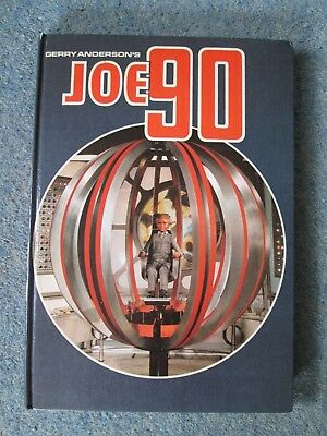 Gerry Anderson's Joe 90 Annual 1968 Unclipped Vgc Century 21 Publishing