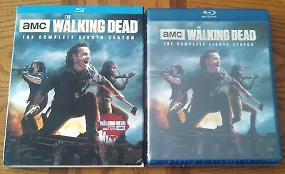 The Walking Dead The Complete Eighth Season Blu-Ray - New & Sealed