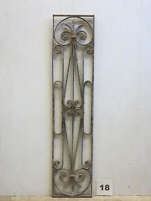 Antique Egyptian Architectural Wrought Iron Panel Grate (E-18)