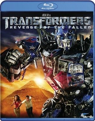 TRANSFORMERS REVENGE OF THE FALLEN New Sealed Blu-ray