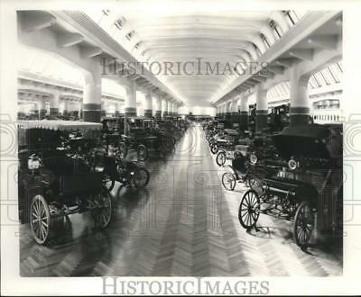 1953 Press Photo Cars Arranged Chronologically At Ford Museum In Dearborn