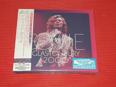 2018 Japan 2 Cd Set David Bowie Glastonbury 2000 Digi Sleeve