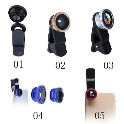 3 In 1 Mobile Phone Wide Angle + Fish Eye + Macro Camera kit Lens Universal