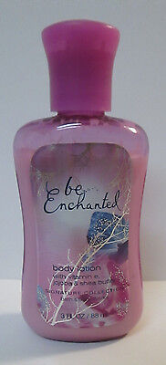 Bath & Body Works BE ENCHANTED  Body Lotion TRAVEL SIZE 3 OZ  Used 2 x
